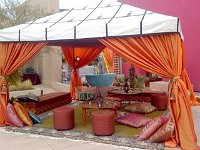 Moroccan tents